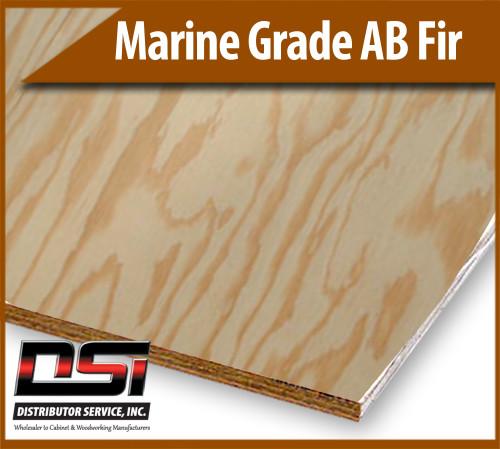 """Marine Grade AB Fir 3/4"""" x 4x8"""