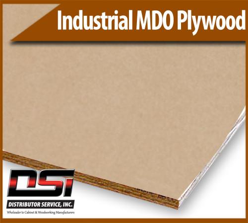 "Industrial MDO Plywood G2S 1/2"" x 4x8"