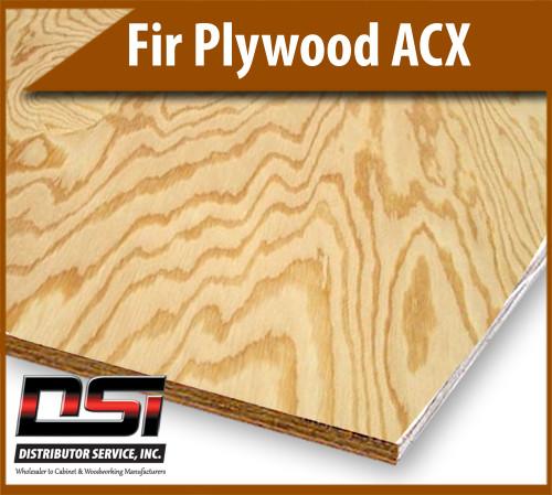 "Fir Plywood ACX 23/32"" x 4x8"