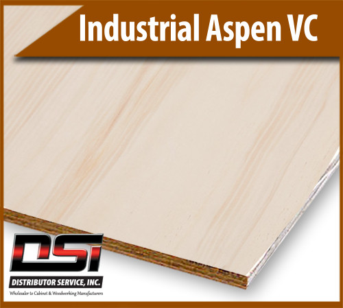 "Industrial Aspen VC IND/C G1S 5ply 5/8"" x 4x8"