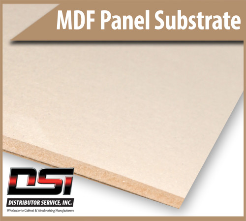 "Medium Density Fibreboard MDF Panels 1/4"" x 49"" x 97"""