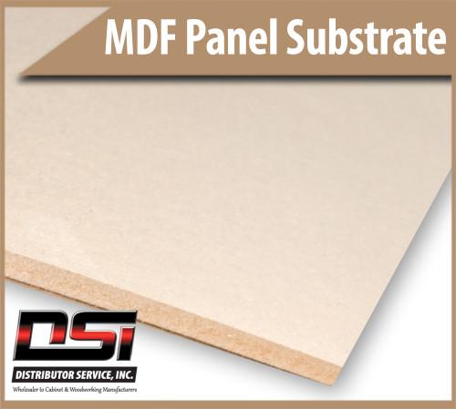 "Medium Density Fibreboard MDF Panels 11/16"" x 49"" x 97"""