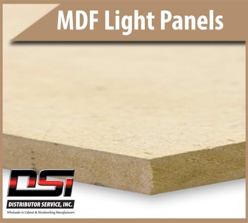 """Medium Density Fibreboard Light MDF Panels 1/2"""" x 49"""" x 97"""""""