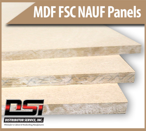 "Medium Density Fibreboard FSC NAUF MDF Panels 1/2"" x 49"" x 145"""