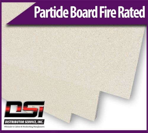"""Particle Board Core Fire Rated 11/16"""" x 49"""" x 97"""" Industrial Particleboard Panels"""