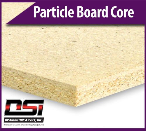 """Particle Board Core 3/4"""" x 30"""" x 145"""" Industrial Particleboard Panels"""