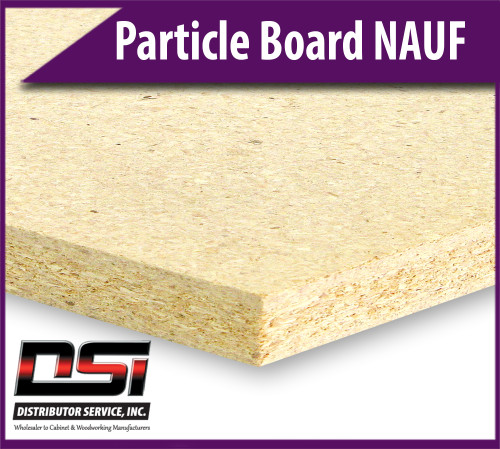 """Particle Board Core NAUF 11/16"""" x 49"""" x 121"""" Industrial Particleboard Panels"""