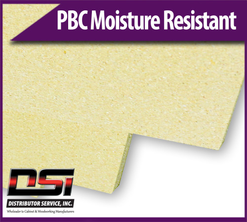 """Particle Board Core Moisture Resistant 3/4"""" x 30"""" x 145"""" Industrial Particleboard Panels"""