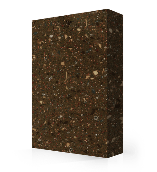 "Avonite Solid Surface Dark Roast Acrylic Sheet 1/2"" x 30"" x 144"""