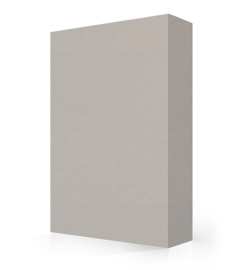 """Avonite Solid Surface Dove Grey Acrylic Sheet 1/2"""" x 30"""" x 144"""""""