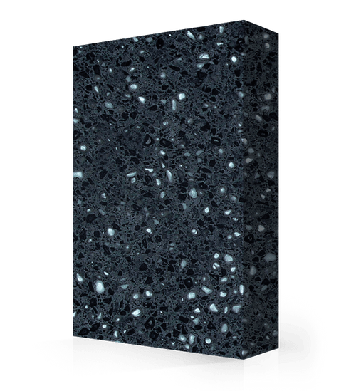 """Avonite Solid Surface Black Coral Acrylic Sheet 1/2"""" x 30"""" x 144"""""""