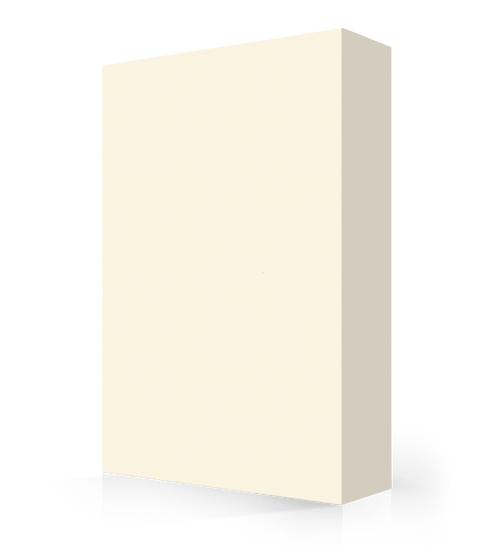 """Avonite Solid Surface Creme Acrylic Sheet 1/4"""" x 36"""" x 96"""""""