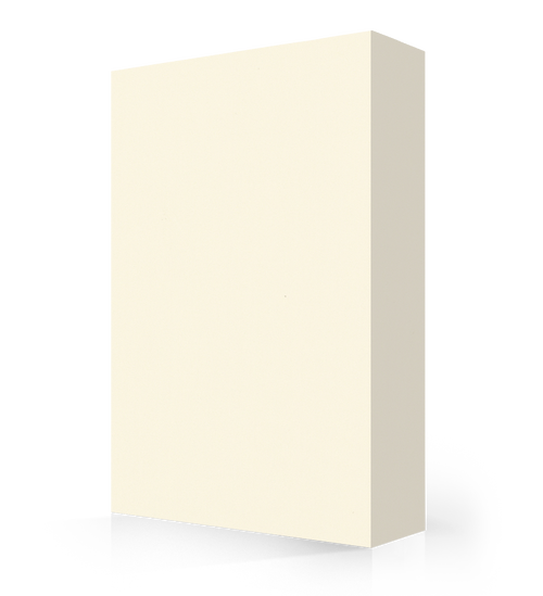 """Avonite Solid Surface Creme Acrylic Sheet 1/4"""" x 48"""" x 96"""""""