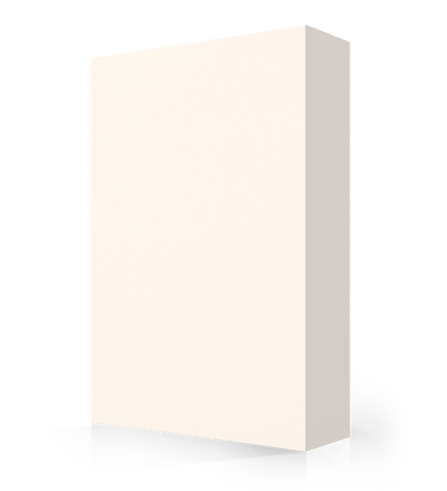 """Avonite Solid Surface Ivory Acrylic Sheet 1/2"""" x 30"""" x 144"""""""