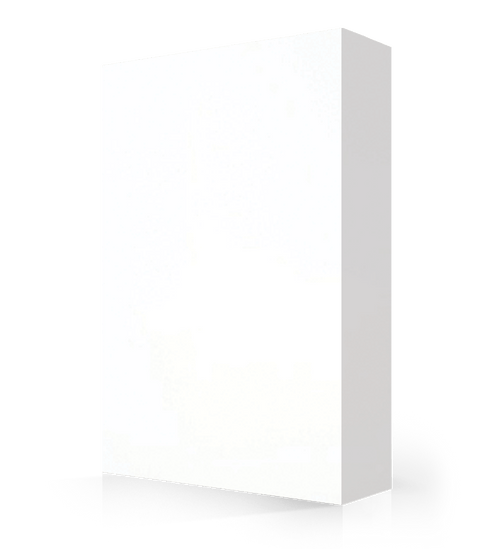 """Avonite Solid Surface Ice White Acrylic Sheet 1/2"""" x 54"""" x 144"""""""