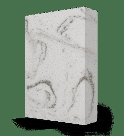 "Studio-Collection-Calacatta Stone Polyester Sheet 1/2"" x 36"" x 120"""