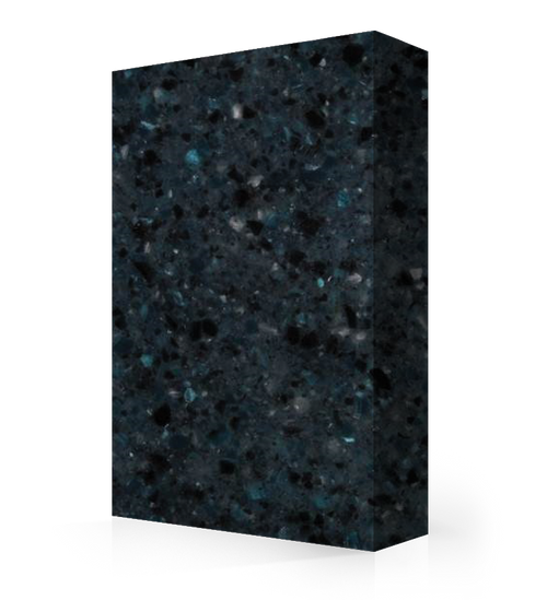 """Studio-Collection-Blue Pearl Polyester Sheet 1/2"""" x 36"""" x 120"""""""