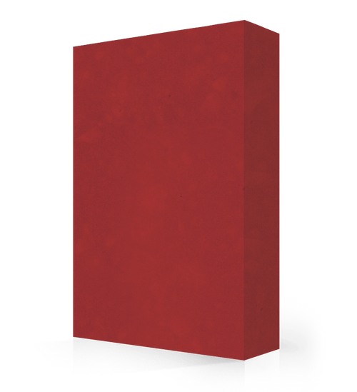 """Studio-Collection-Ruby Glass Polyester Sheet 1/2"""" x 36"""" x 120"""""""
