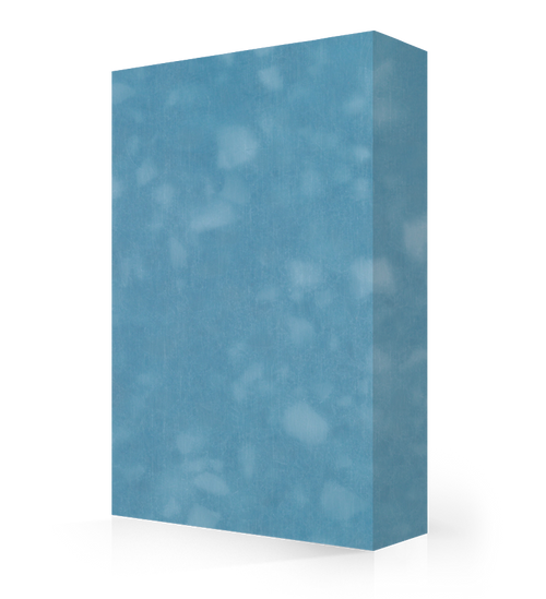 """Studio-Collection-Sky Glass Polyester Sheet 1/2"""" x 36"""" x 120"""""""