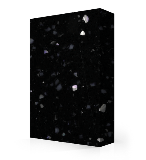 """Studio-Collection-Night Pearl Polyester Sheet 1/2"""" x 36"""" x 120"""""""