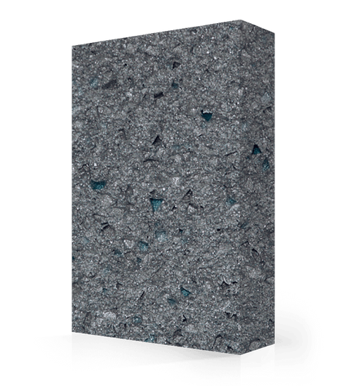 """Studio-Collection-Silver Comet Polyester Sheet 1/2"""" x 36"""" x 120"""""""