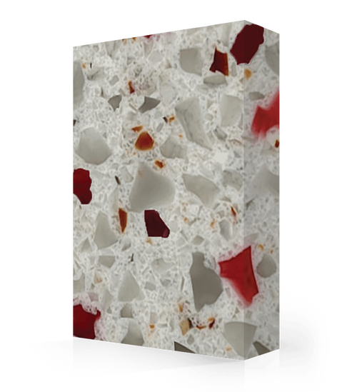"Studio-Collection-Crushed Garnet Polyester Sheet 1/2"" x 36"" x 120"""