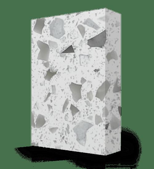 "Studio-Collection-Terrazzo Polyester Sheet 1/2"" x 36"" x 120"""