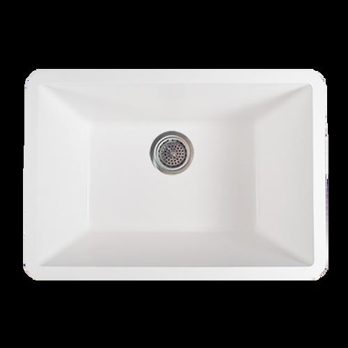 Avonite-Sink-Bowl Super White 25-5/8 X 17-3/4
