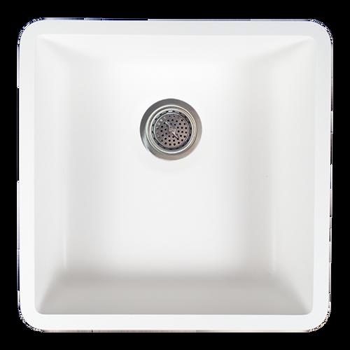 Avonite-Sink-Bowl White 28-1/2 X 17-1/2 X 6-1/4