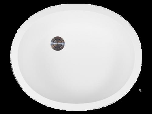 Avonite-Vanity-Bowl Creme 20-7/8 X 15-5/8