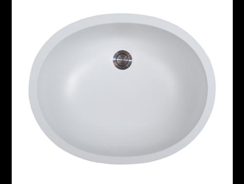 Avonite-Vanity-Bowl White 20-7/8 X 15-5/8