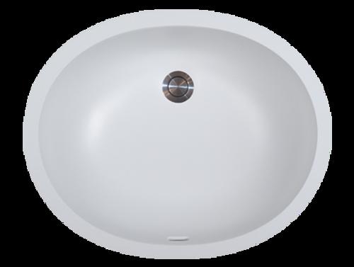 Avonite-Vanity-Bowl Super White 19-1/2 X 14-5/16