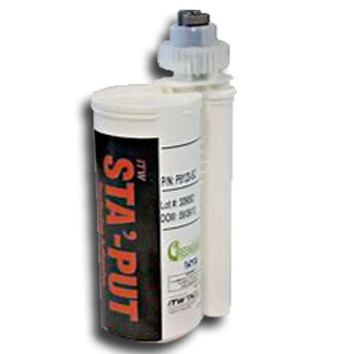 Solid-Surface-Fabrication-Adhesive Carbon 10oz./250 mil Cartridge