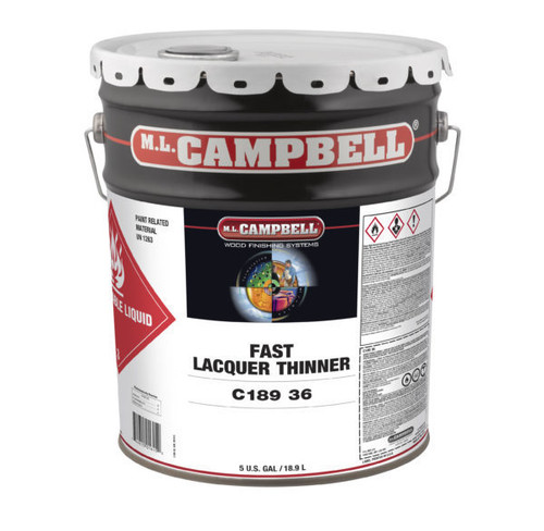 ML Campbell Fast Lacquer Thinner 5 Gallons