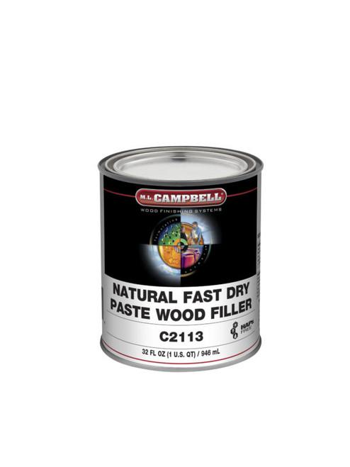 ML Campbell Natural Paste Wood Filler Quart