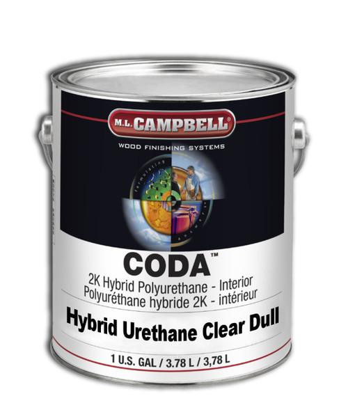 ML Campbell Clean CODA 2K Hybrid Urethane Clear Dull Gallon
