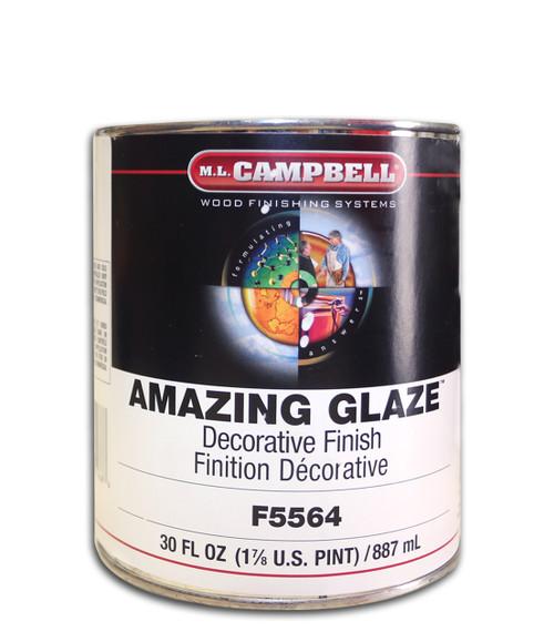 ML Campbell Wood Finishing Amazing Glaze Clear Base QT