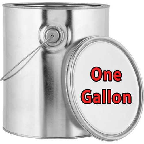 Professional Wood Finish Gold Lined Gallon Can with Bail