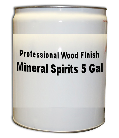 Professional Wood Finish Mineral Spirits 5 Gallons