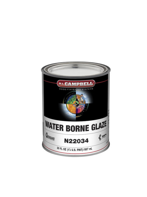 ML Campbell Water Borne Glaze Base Quart