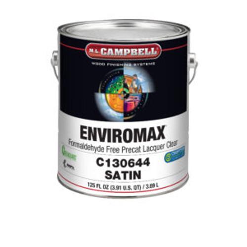 ML Campbell EnviroMax Formaldehyde Free White/ Opaque Satin Pre-cat Gallon