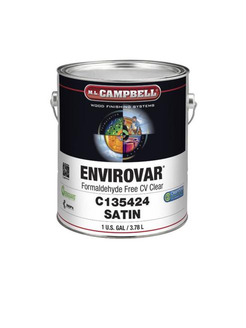 ML Campbell EnviroVar Formaldehyde Free White/Opaque Satin Post Cat Gallon