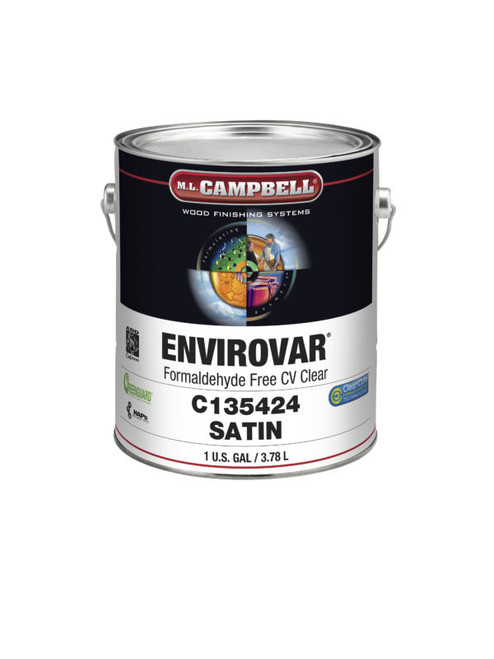ML Campbell EnviroVar Formaldehyde Free White/Opaque Satin Post Cat 5 Gallons