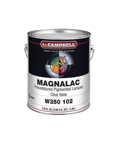 ML Campbell Magnalac Precat Sat White/ Opaque Base Gallon