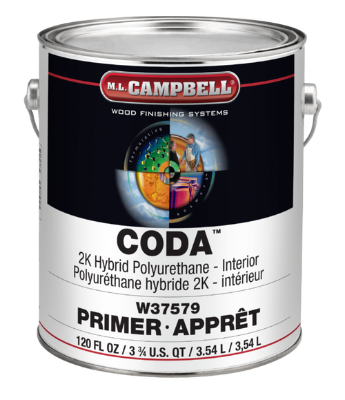ML Campbell CODA 2K Hybrid Urethane White Dull Gallon