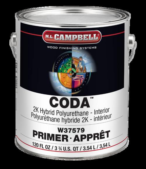 ML Campbell CODA 2K Hybrid Urethane White Satin Gallon