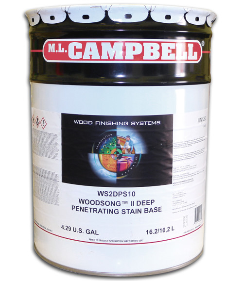 ML Campbell Woodsong II Deep Pen Stain 5 Gallons