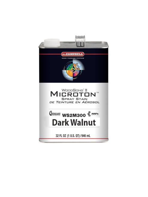 ML Campbell Dark Walnut Microton Dye Stain Gallon