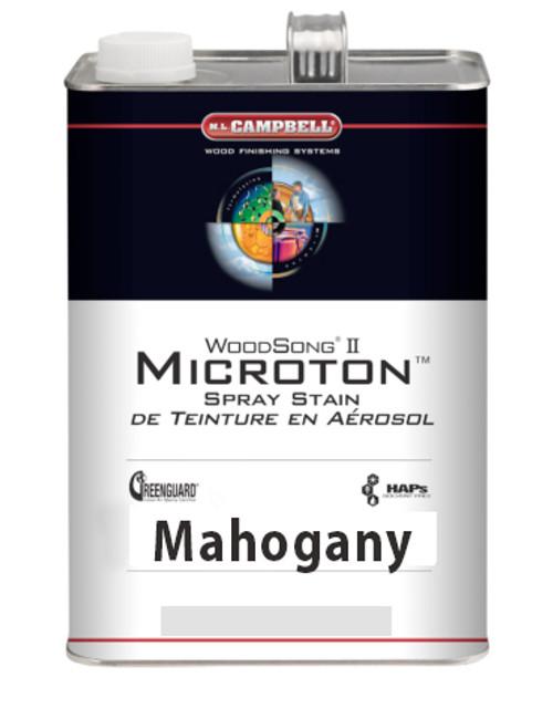 ML Campbell Mahogany Microton Dye Stain Gallon