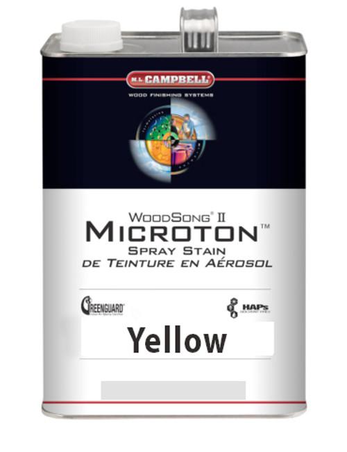 ML Campbell Yellow Microton Dye Stain Gallon